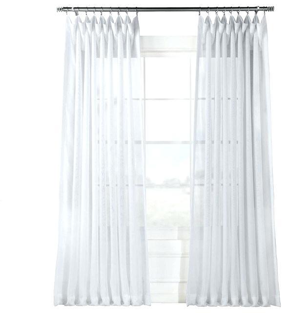 White Sheer Curtains – Aisefuli (View 44 of 50)