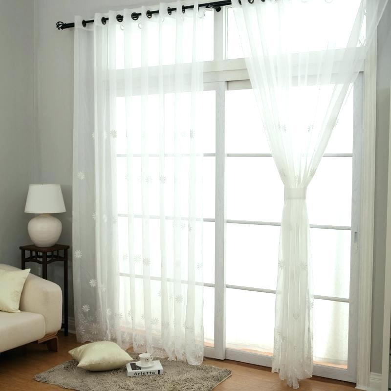 White Sheer Curtains – Aisefuli (View 45 of 50)