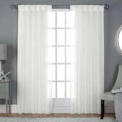 White Sheer Curtains – Pinjongill (View 15 of 50)