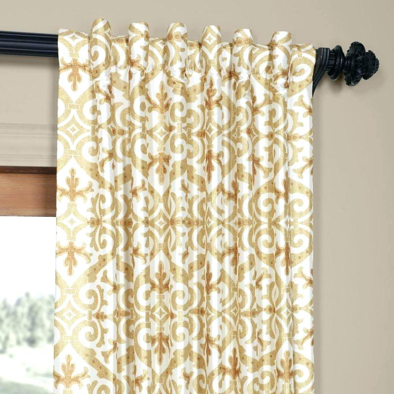 White Silk Curtain Panels – Friv100Games (View 41 of 50)