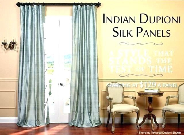 White Silk Curtain Panels – Friv100Games (View 46 of 50)