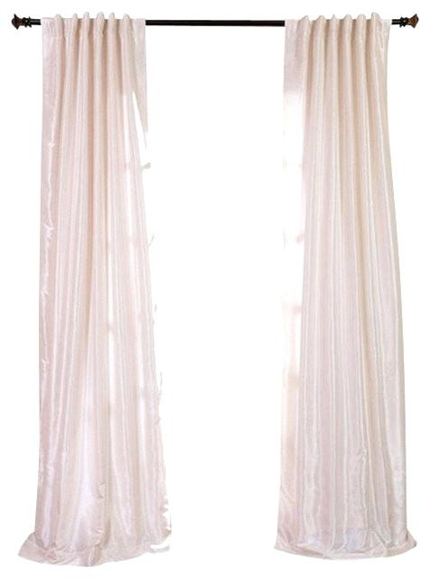 White Textured Curtains – Gercekmedyumbul Throughout Ice White Vintage Faux Textured Silk Curtain Panels (View 48 of 50)