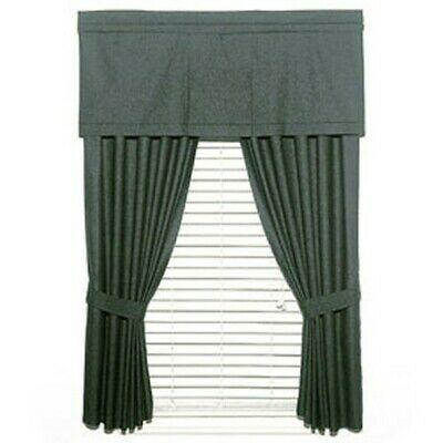 Wholesale Huge Lot 20 Black Denim Curtain Set – Window Drapes Panel Solid  Cotton 659857011839 | Ebay Intended For Solid Cotton Curtain Panels (#47 of 47)