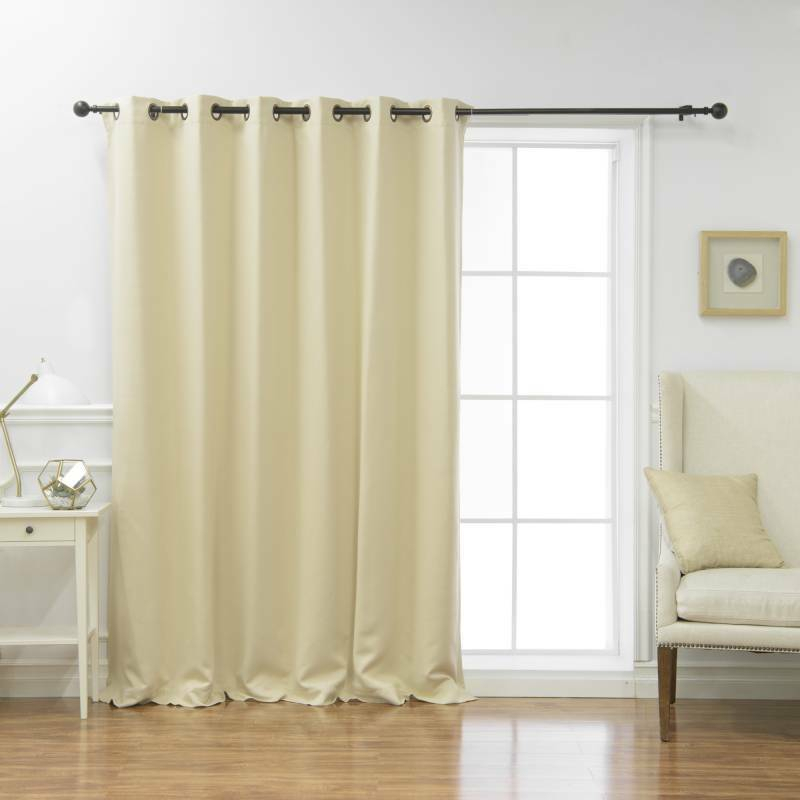 Wide Blackout Curtains – Mercadeo (View 39 of 39)