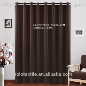 Wide Thermal Blackout Patio Door Curtain Panel,sliding Door Curtains  Antique Bronze Grommet Top – Buy Blackout Curtains,ready Made Curtain,fancy Throughout Grommet Blackout Patio Door Window Curtain Panels (View 50 of 50)