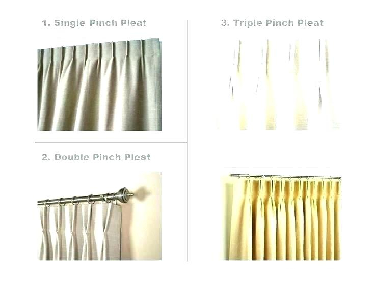 Wide Width Curtains Double Handmade Drapery Pleat Upgrade Pertaining To Double Pinch Pleat Top Curtain Panel Pairs (#50 of 50)