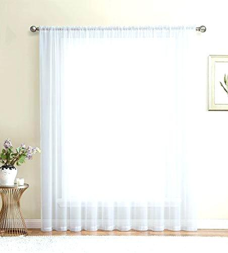 Wide Window Curtains – Jeffersonvillecog Inside Extra Wide White Voile Sheer Curtain Panels (View 47 of 50)