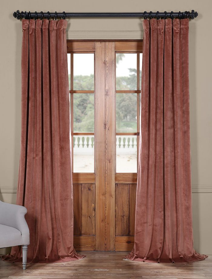 Popular Photo of Heritage Plush Velvet Curtains