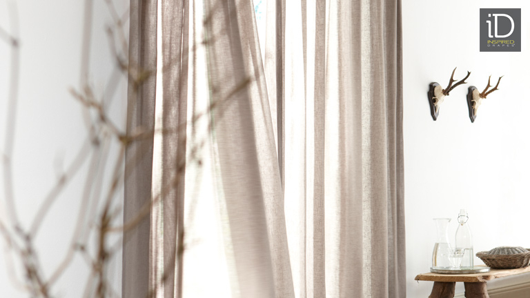 Window Drapes, Curtains – Drapery Panels, Panel Curtain Throughout Linen Button Window Curtains Single Panel (#40 of 40)