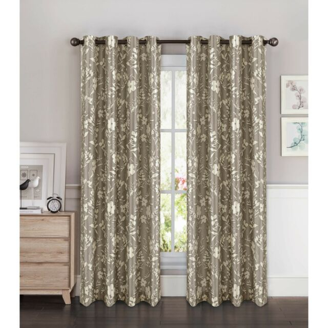 Window Elements Florabotanica Printed Faux Silk Extra Wide 54 X 84 In (#48 of 50)