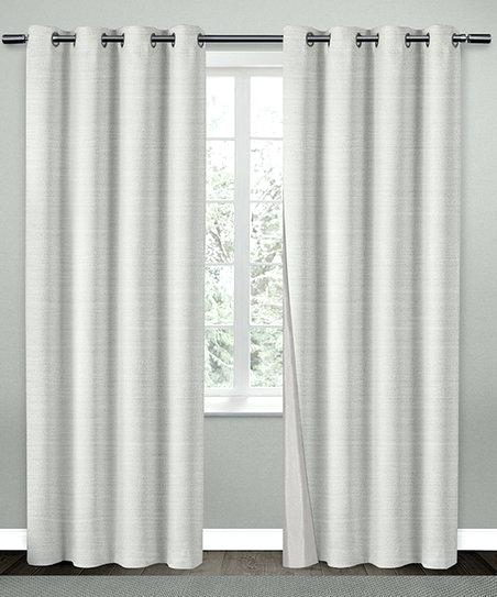 Winning Silk Curtain Panels Faux 95 Inch Panel Cream For Silver Vintage Faux Textured Silk Curtain Panels (View 27 of 50)
