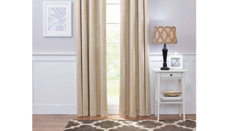 Wonderful Damask Curtains Blackout Living Rooms Grey Curtain In Luxury Collection Faux Leather Blackout Single Curtain Panels (View 24 of 42)
