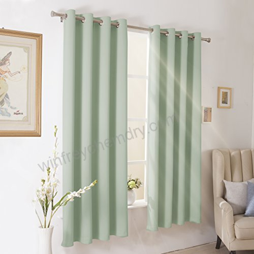 Wontex Blackout Curtains Room Darkening Thermal Insulated For Delano Indoor/outdoor Grommet Top Curtain Panel Pairs (View 26 of 45)