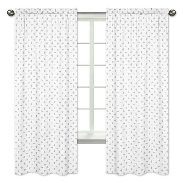 Woodsy Geometric Semi Sheer Outdoor Rod Pocket Curtain Panels For Rod Pocket Curtain Panels (View 33 of 34)