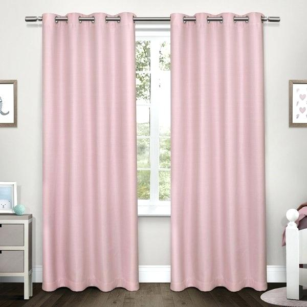 Woven Blackout Curtains – Willthompson Intended For Woven Blackout Curtain Panel Pairs With Grommet Top (#42 of 42)