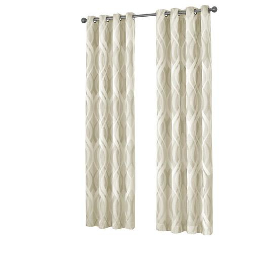 Write A Review About Eclipse Caprese 63 In Ivory Polyester Pertaining To Eclipse Caprese Thermalayer Blackout Window Curtains (View 30 of 30)