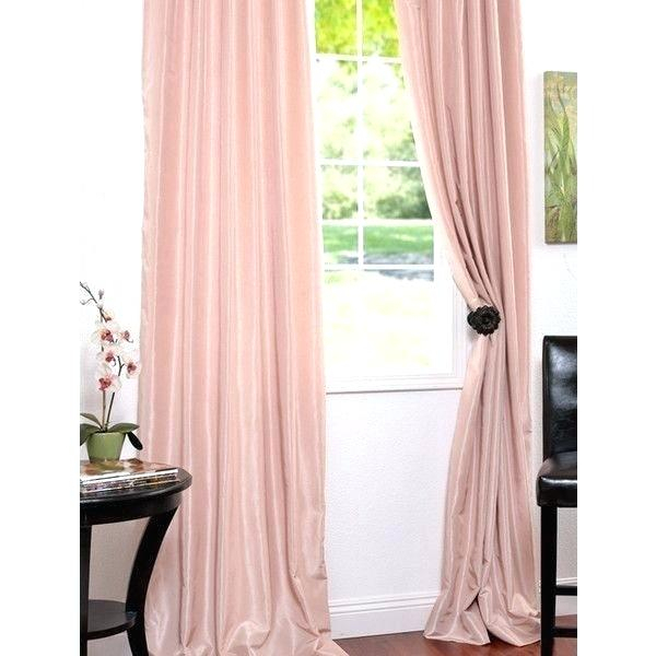 Yarn Dyed Faux Silk Single Curtain Panel Curtains Vintage In Storm Grey Vintage Faux Textured Dupioni Single Silk Curtain Panels (View 34 of 50)
