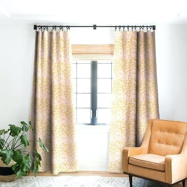 Yellow Blackout Curtains – Vapervault (View 46 of 46)