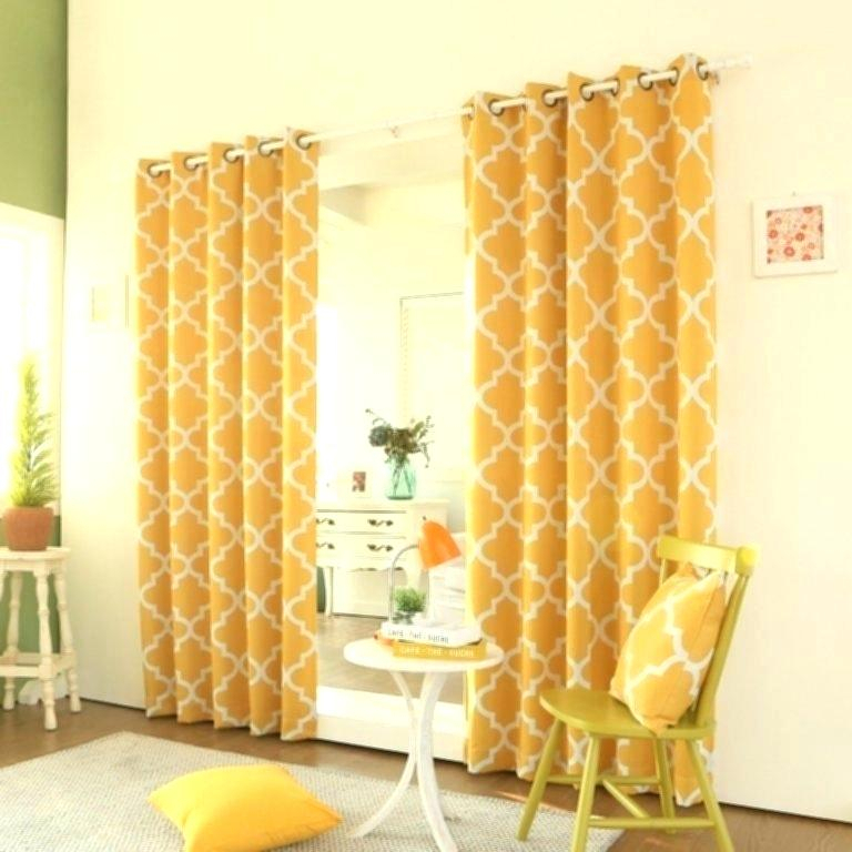 Yellow Curtain Blackout Curtains Target Mustard Amazon For Throughout Copper Grove Speedwell Grommet Window Curtain Panels (#44 of 50)