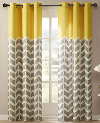 Yellow Window Panels – Shopstyle Intended For Dolores Room Darkening Floral Curtain Panel Pairs (#35 of 35)