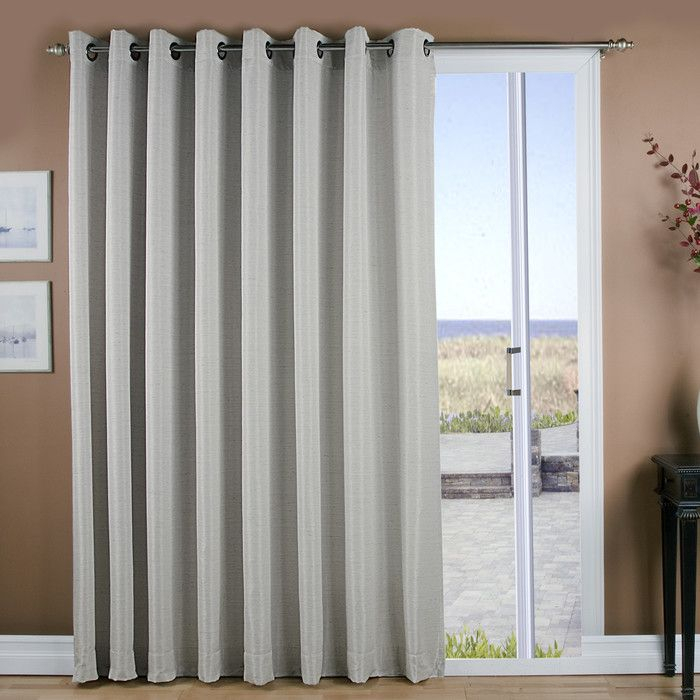 You'll Love The Grasscloth Grommet Patio Thermal Blackout In Tacoma Double Blackout Grommet Curtain Panels (View 48 of 48)