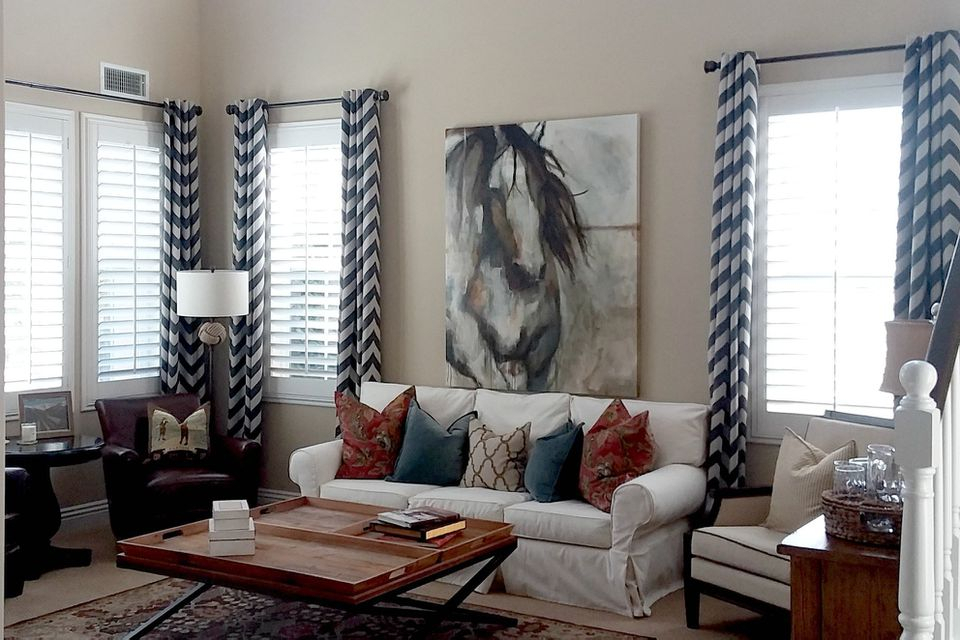 10 Best Beige Paint Colors For Interiors Regarding Class Blue Cotton Blend Macrame Trimmed Decorative Window Curtains (View 1 of 30)