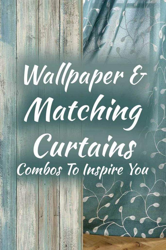 15 Matching Wallpapers And Curtains With Pastel Damask Printed Room Darkening Kitchen Tiers (#1 of 50)
