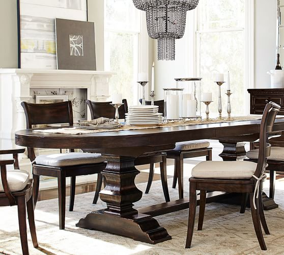 [%2017 Pottery Barn Dining Room Sale: Save 30% Dining Tables Intended For Most Recently Released Alfresco Brown Banks Pedestal Extending Dining Tables|alfresco Brown Banks Pedestal Extending Dining Tables Throughout Most Popular 2017 Pottery Barn Dining Room Sale: Save 30% Dining Tables|best And Newest Alfresco Brown Banks Pedestal Extending Dining Tables With 2017 Pottery Barn Dining Room Sale: Save 30% Dining Tables|best And Newest 2017 Pottery Barn Dining Room Sale: Save 30% Dining Tables With Alfresco Brown Banks Pedestal Extending Dining Tables%] (View 18 of 30)