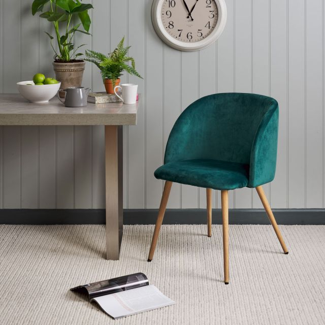 2019 Faye Dining Chair – Emerald For Faye Dining Tables (#1 of 20)