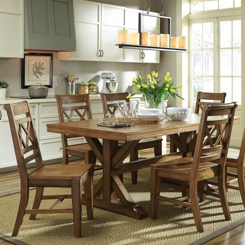2020 Canyon Dining Collectionjohn Thomas – Cedar Hill Furniture Within Tuscan Chestnut Toscana Extending Dining Tables (View 20 of 30)