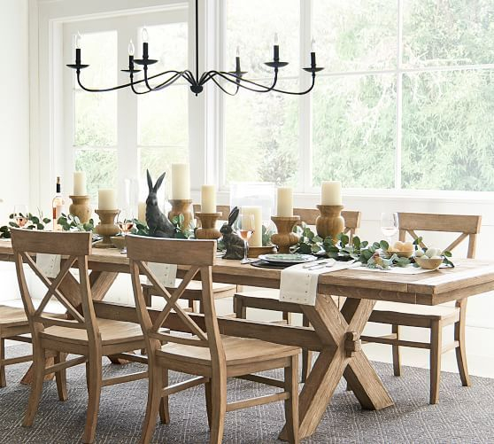 """Inspiration about 2020 Lucca Metal Chandelier, Brass, 49.57"""" Diameter – Lighting With Seadrift Toscana Dining Tables (#5 of 20)"""