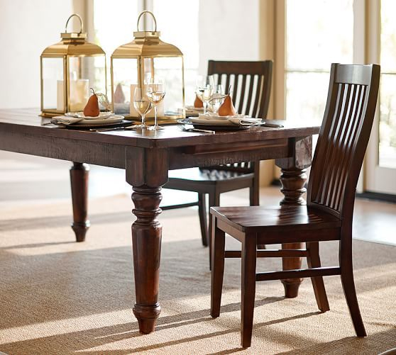 "2020 Rustic Mahogany Extending Dining Tables Regarding Sumner Extending Dining Table, Rustic Mahogany, 76"" – 120"" L (View 3 of 30)"