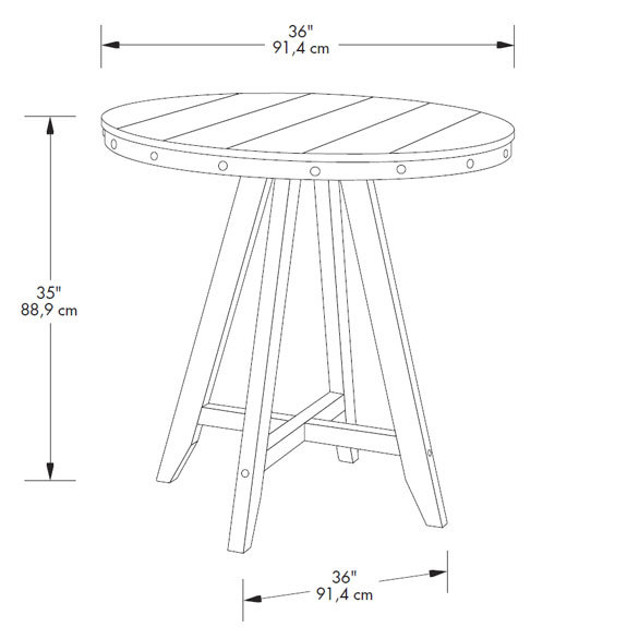 2020 Sauder Carson Forge Counter Height Table (415089) With Carson Counter Height Tables (View 19 of 20)