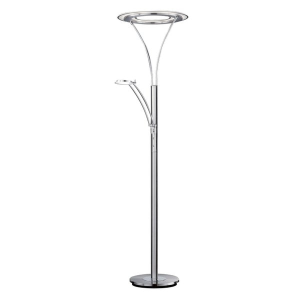 2020 Shop Montalvo Maryland Led Torchiere With Reading Light In Pertaining To Montalvo Round Dining Tables (#1 of 20)