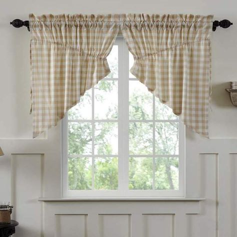 Inspiration about 24 Gorgeous Tips And Hints For #sheercurtains Inside White Tone On Tone Raised Microcheck Semisheer Window Curtain Pieces (#31 of 46)