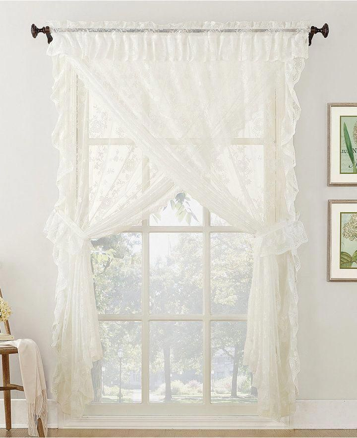 24 Gorgeous Tips And Hints For #sheercurtains With Regard To White Tone On Tone Raised Microcheck Semisheer Window Curtain Pieces (#5 of 46)