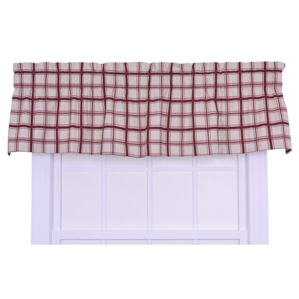 Inspiration about 3 Inch Pocket Rod Valance   Wayfair Intended For Floral Watercolor Semi Sheer Rod Pocket Kitchen Curtain Valance And Tiers Sets (#12 of 50)