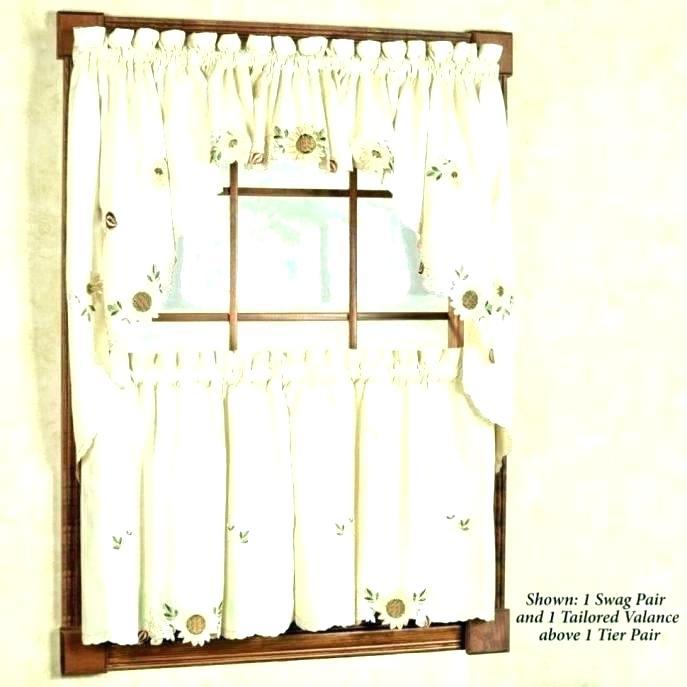 3 Piece Kitchen Curtain Set – Pilarkaltim (#2 of 50)