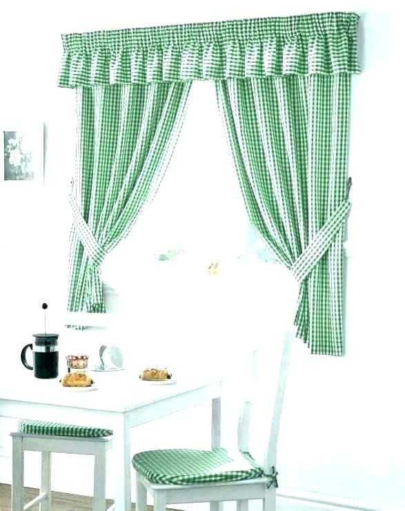 Inspiration about 3 Piece Kitchen Curtain Set – Pilarkaltim.co Throughout Window Curtain Tier And Valance Sets (#40 of 50)