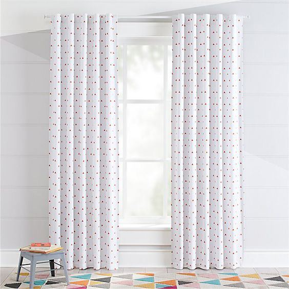 30 Blackout Curtain Ideas For Kids: #17 Is So Cool! – The In Bermuda Ruffle Kitchen Curtain Tier Sets (View 1 of 50)