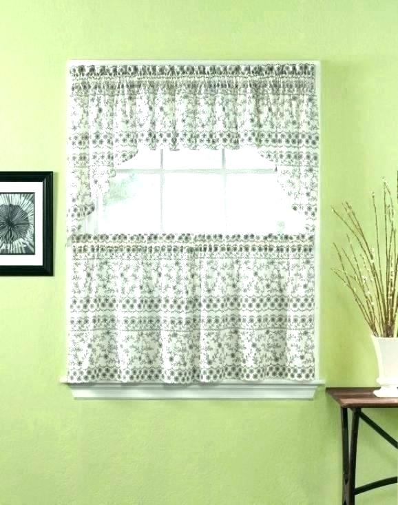 Inspiration about 36 Inch Window Curtains – Sgpartyti Regarding Cottage Ivy Curtain Tiers (#27 of 49)