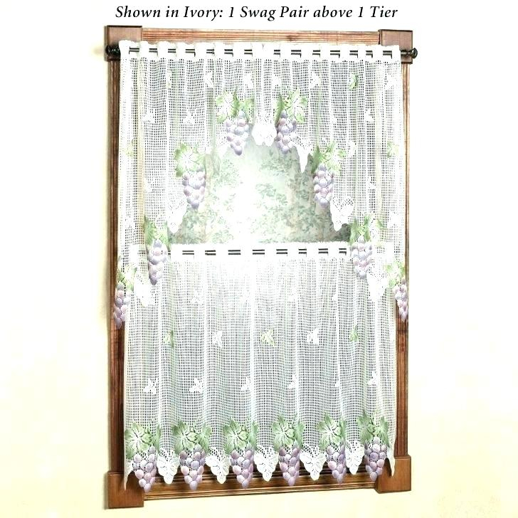 36 Inch Window Curtains – Sgpartyti Throughout Cottage Ivy Curtain Tiers (#8 of 49)