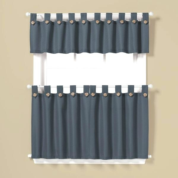 36 Inch Window Curtains Tier Curtains Window Curtains White Intended For Cottage Ivy Curtain Tiers (#2 of 49)