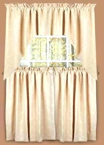 36 Length Curtains Intended For Red Delicious Apple 3 Piece Curtain Tiers (View 13 of 50)