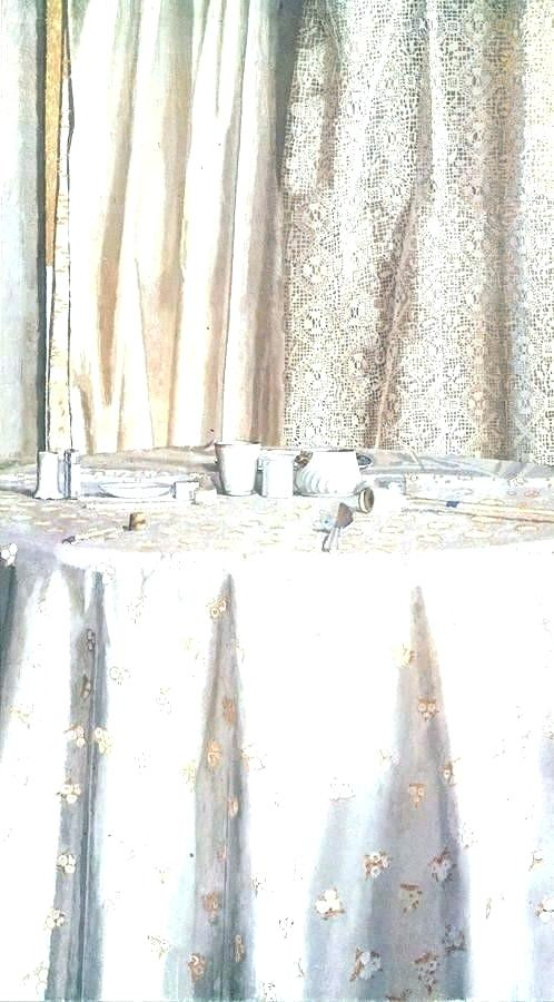 36 Length Curtains With Regard To Red Delicious Apple 3 Piece Curtain Tiers (View 17 of 50)
