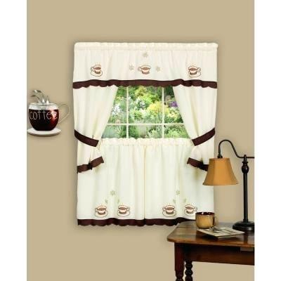 Inspiration about 36 Window Curtains – Caseyderbyshire.co With Regard To Traditional Two Piece Tailored Tier And Valance Window Curtains (#36 of 50)