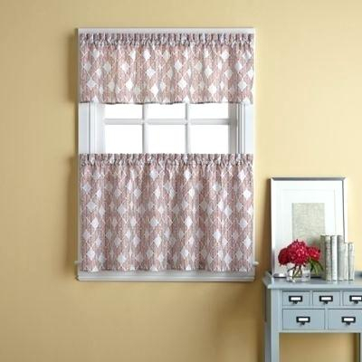 Inspiration about 36 Window Curtains – Caseyderbyshire.co Within Traditional Two Piece Tailored Tier And Valance Window Curtains (#7 of 50)