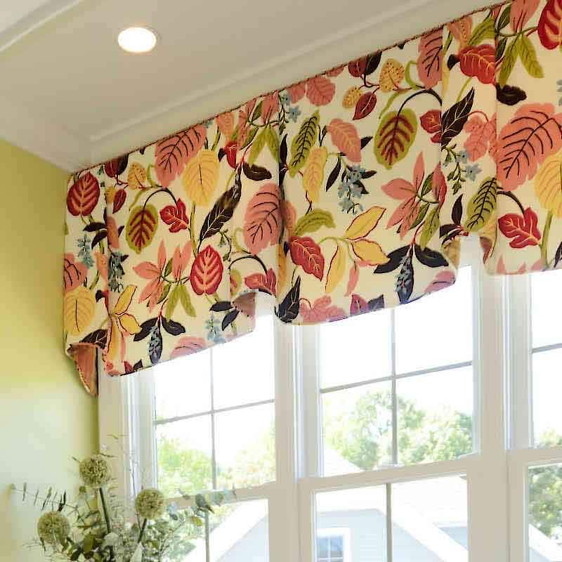 Inspiration about 39 Window Valance Curtain Ideas (From Custom Workrooms) Inside Floral Pattern Window Valances (#18 of 50)