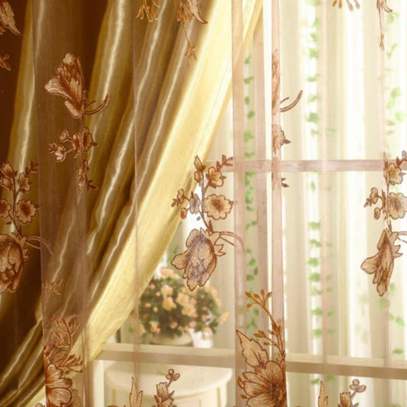 Inspiration about 3Pcs Set Curtains Blackout Vintage Lace Curtain Transparent Printing For  Bedroom Window Kitchen Ladder Belt Curtain With Window Curtains Sets With Colorful Marketplace Vegetable And Sunflower Print (#11 of 30)