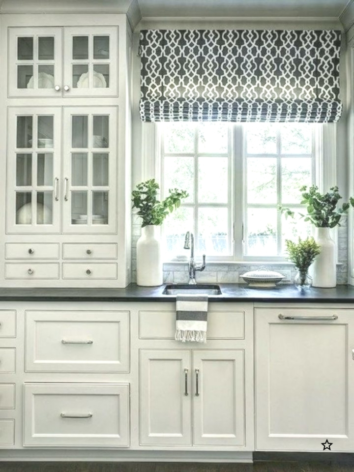 70 Beautiful Farmhouse Kitchen Curtains Decor Ideas – Best Pertaining To Farmhouse Kitchen Curtains (View 2 of 50)